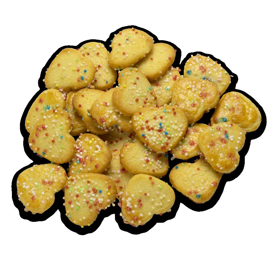Butterplätzchen Streußel 150g