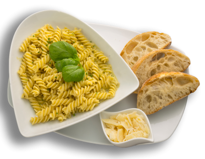 Pasta Sahne Pesto