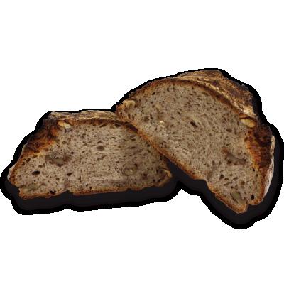 Feuerabend-Brot Walnuß