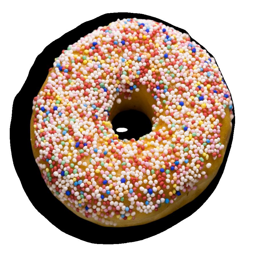 Donuts mit Streusel