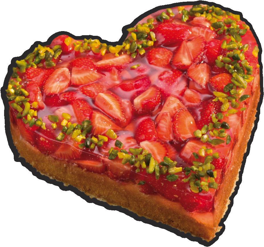 Erdbeerherz