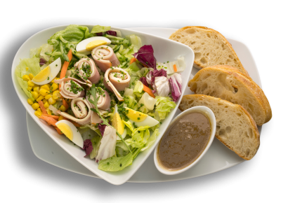 Salat Schinken-Käse