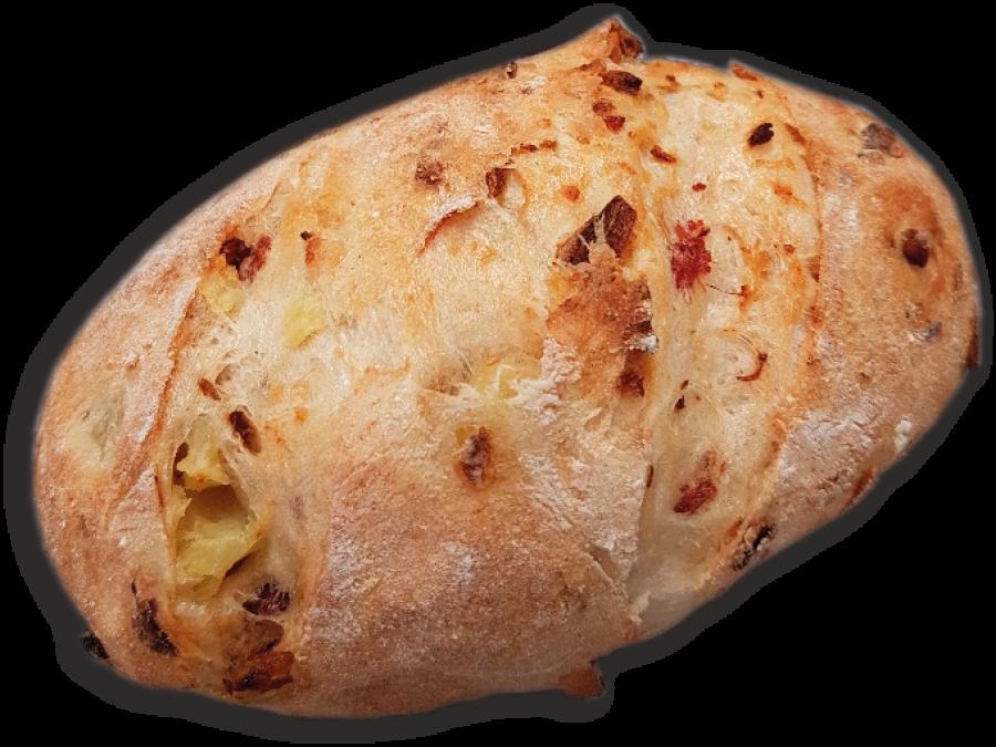 Kartoffel-Speckknolle